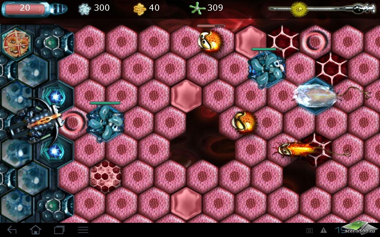 "Игра ""Cell Planet HD Edition"" для планшетов на Android"