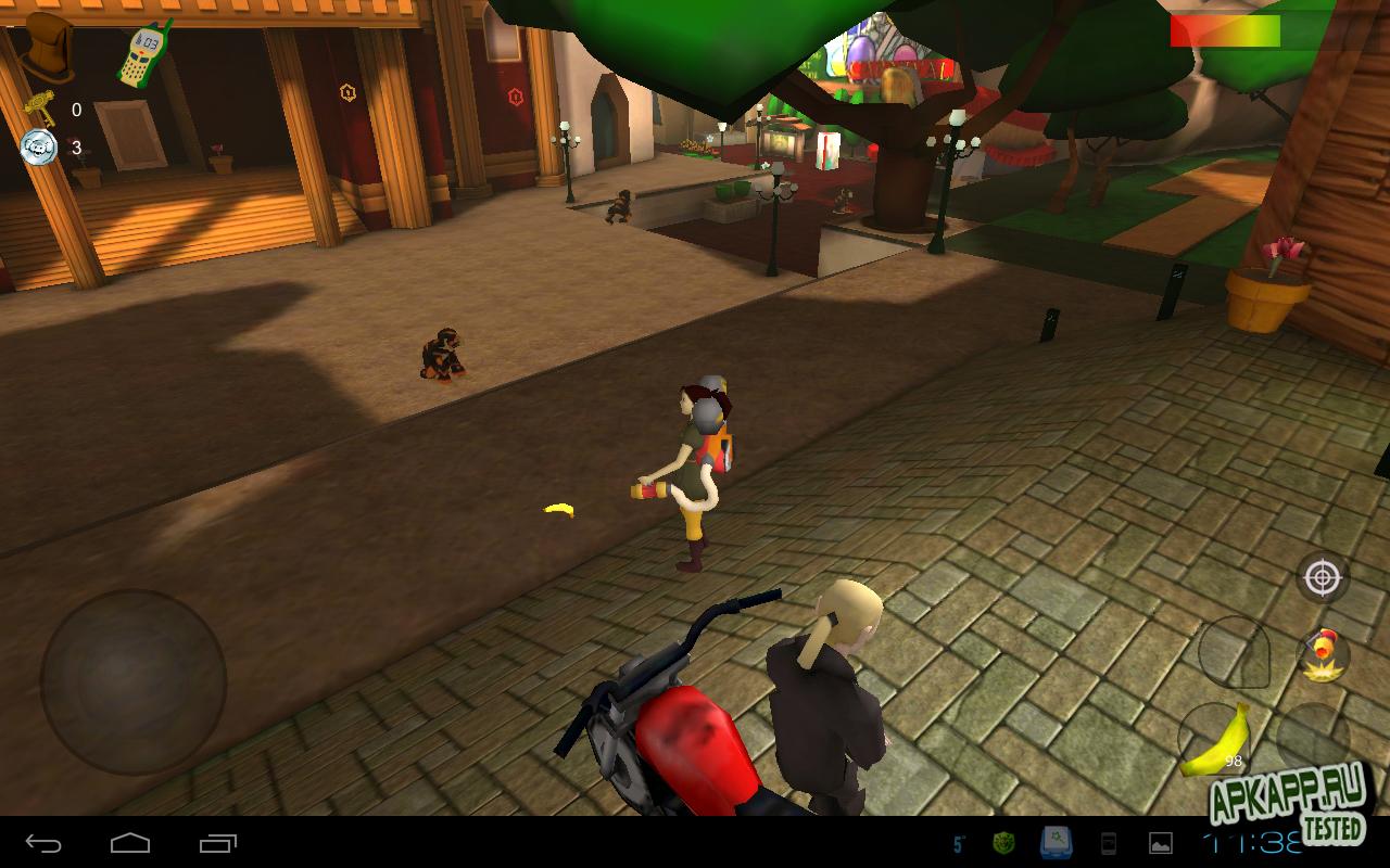 """Игра """"Banonkey Town: Episode 1"""" для планшетов на Android"""