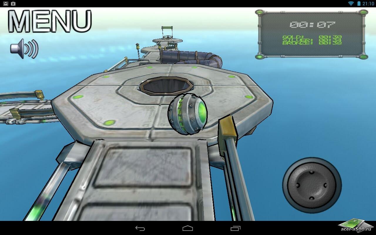 """Игра """"Swerve"""" для планшетов на Android"""