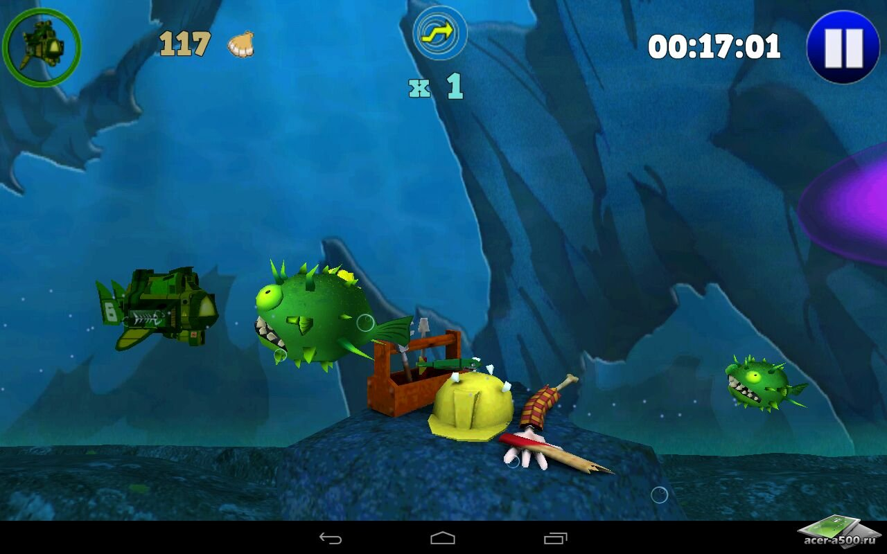 "Игра ""8th Wave: Abyssal Rise"" для планшетов на Android"