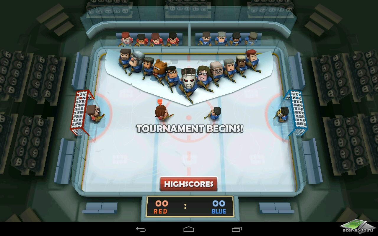 """Игра """"Ice Rage"""" на Андроид"""