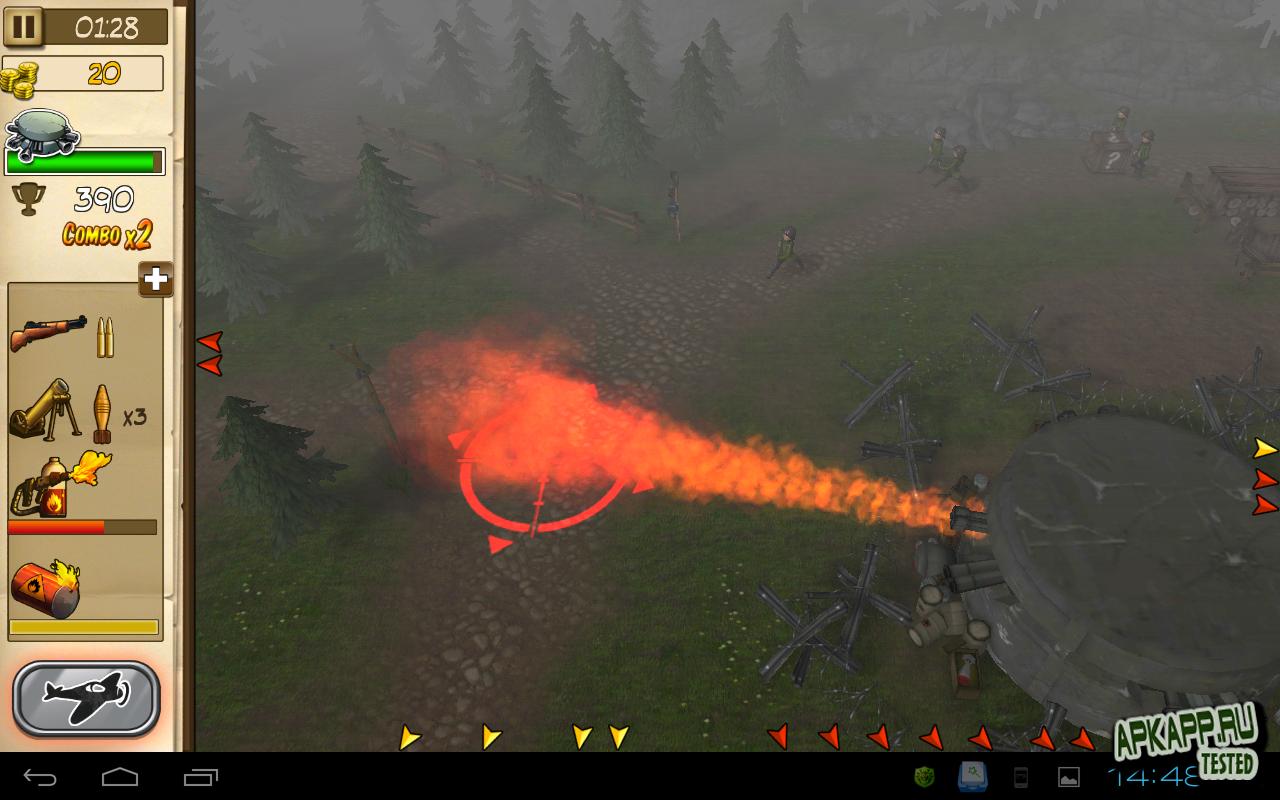 """Игра """"Hills of Glory 3D"""" на Андроид"""