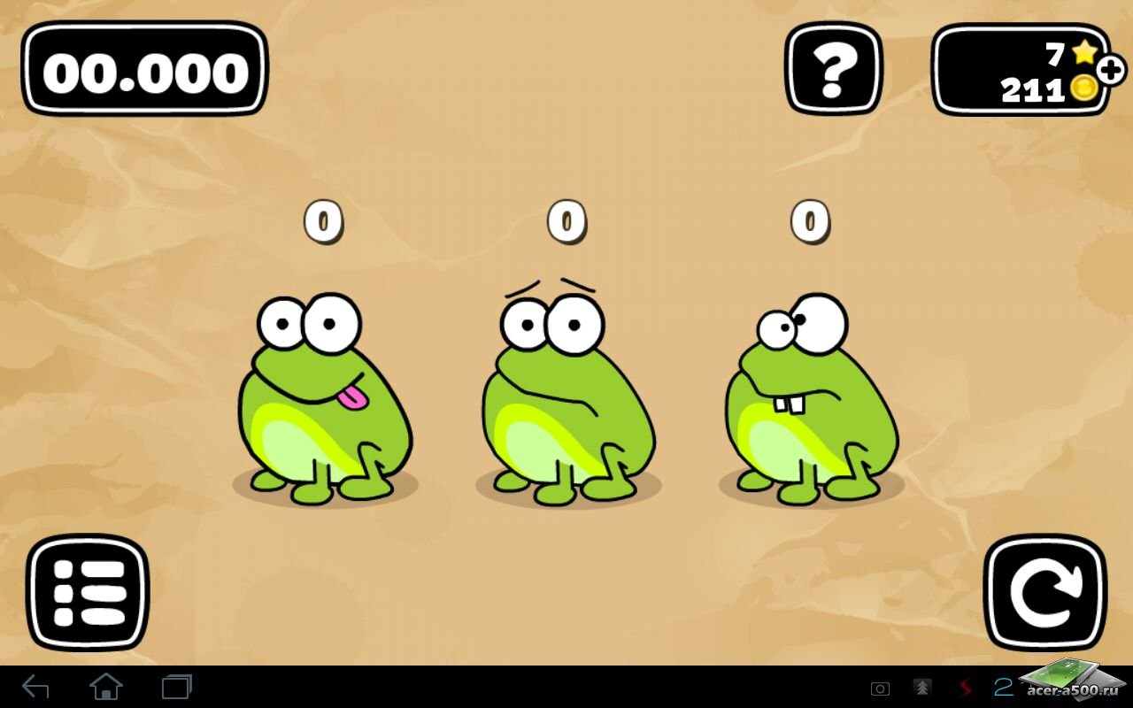 "Игра ""Tap the frog: Doodle"" на Андроид"