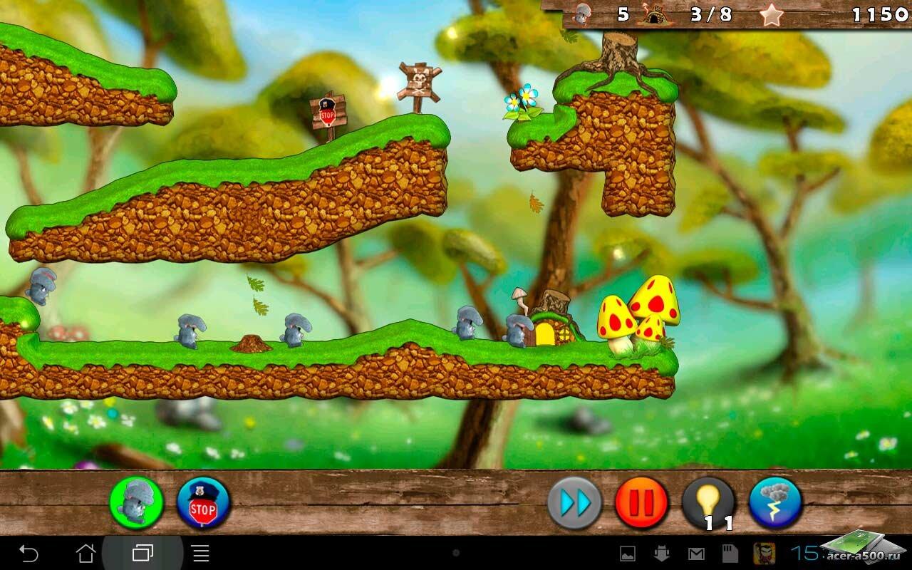 "Игра ""Bunny Mania 2"" для планшетов на Android"