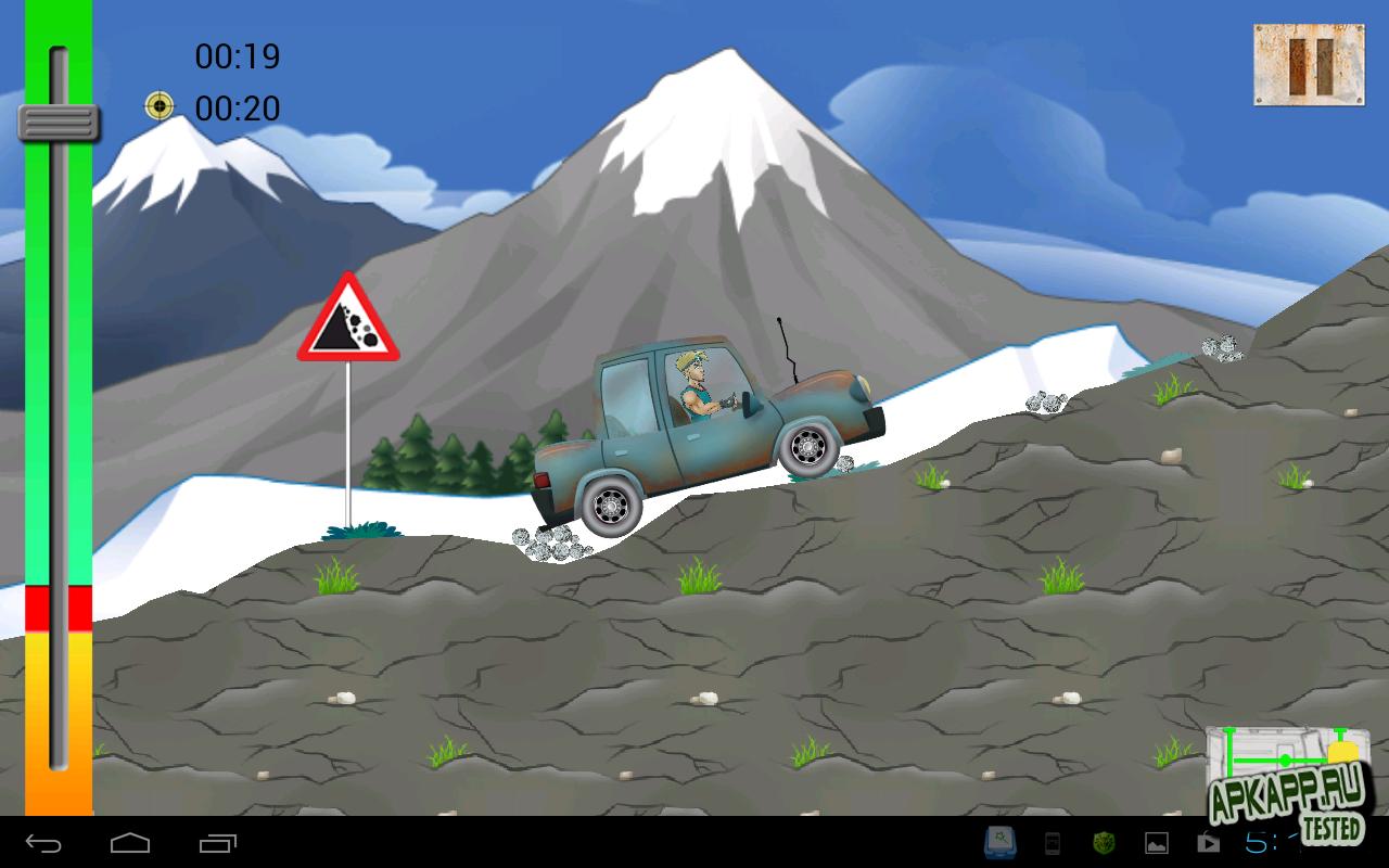 """Игра """"4x4 Adventures"""" на Андроид"""