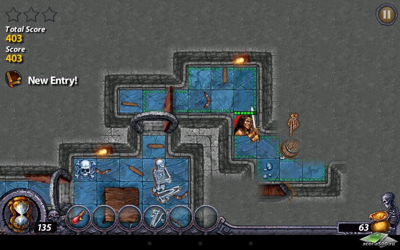 "Игра ""Dark Quest"" для планшетов на Android"