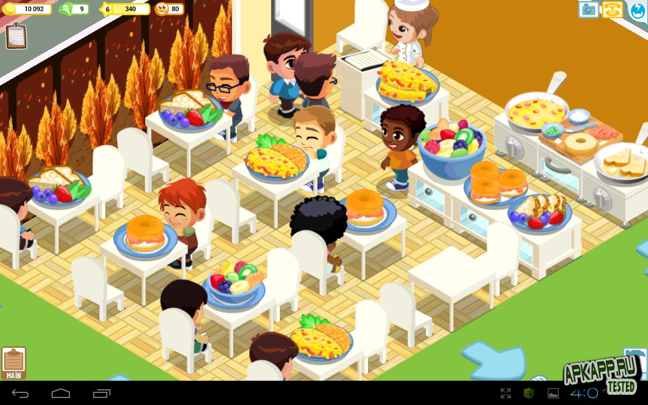 "Игра ""История ресторана™"" на Андроид"