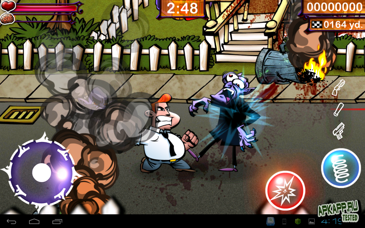 Игра Fangz HD на Андроид