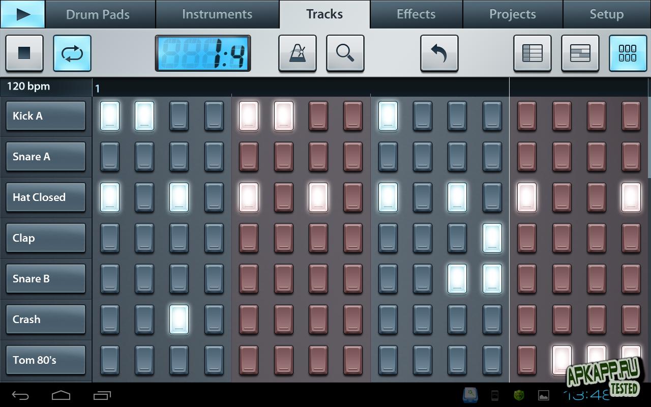 "Приложение ""FL Studio Mobile"" для планшетов на Android"