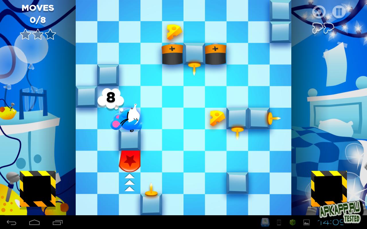 """Игра """"Lazy Mouse"""" на Андроид"""