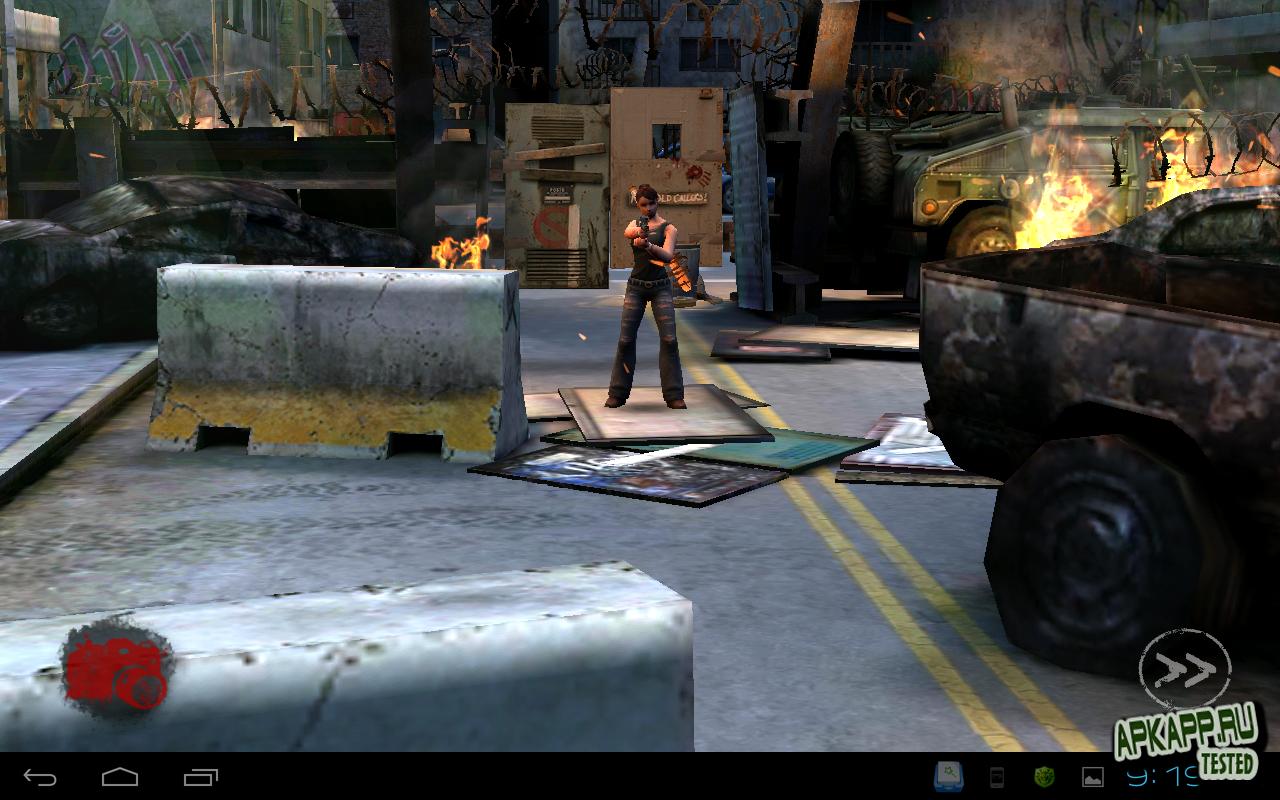 "Игра ""Zombie HQ"" на Андроид"