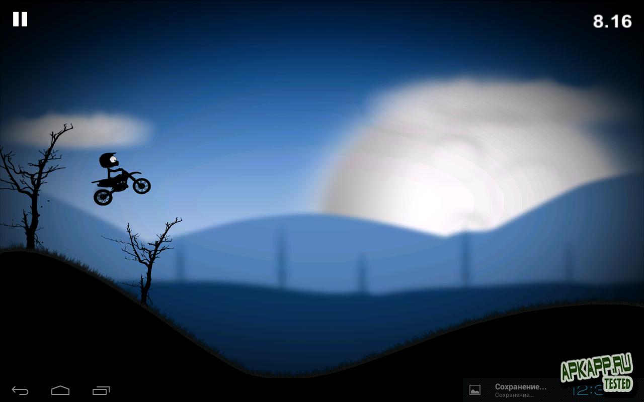 """Игра """"Stick Stunt Biker 2"""" для планшетов на Android"""