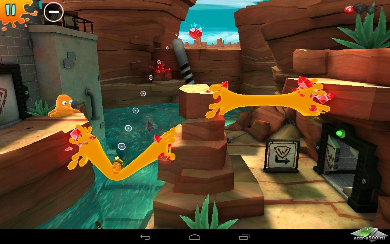 "Игра ""Chuck the Muck"" для планшетов на Android"