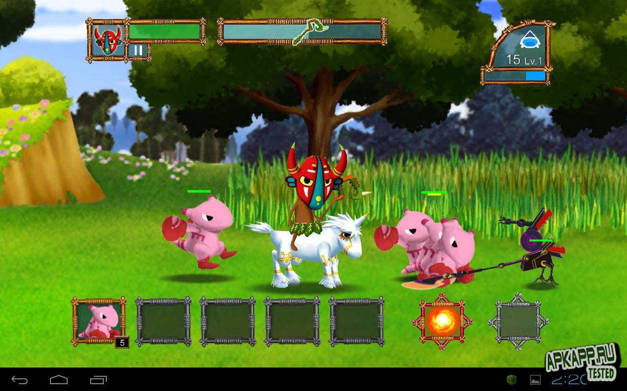 "Игра ""Forest Defense"" для планшетов на Android"