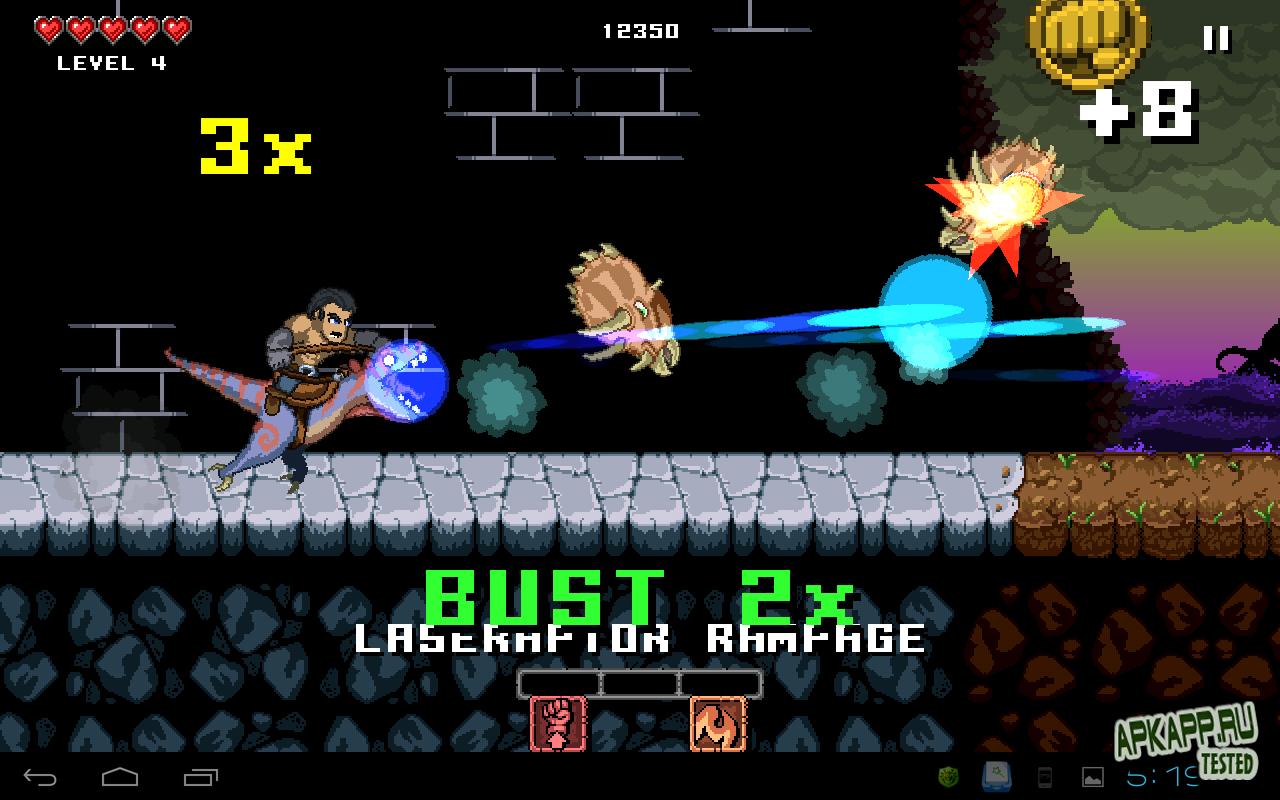 """Игра """"Punch Quest"""" для планшетов на Android"""