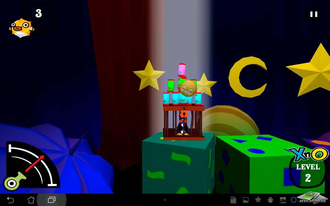 """Игра """"XnO - 3D Adventure Game"""" на Андроид"""
