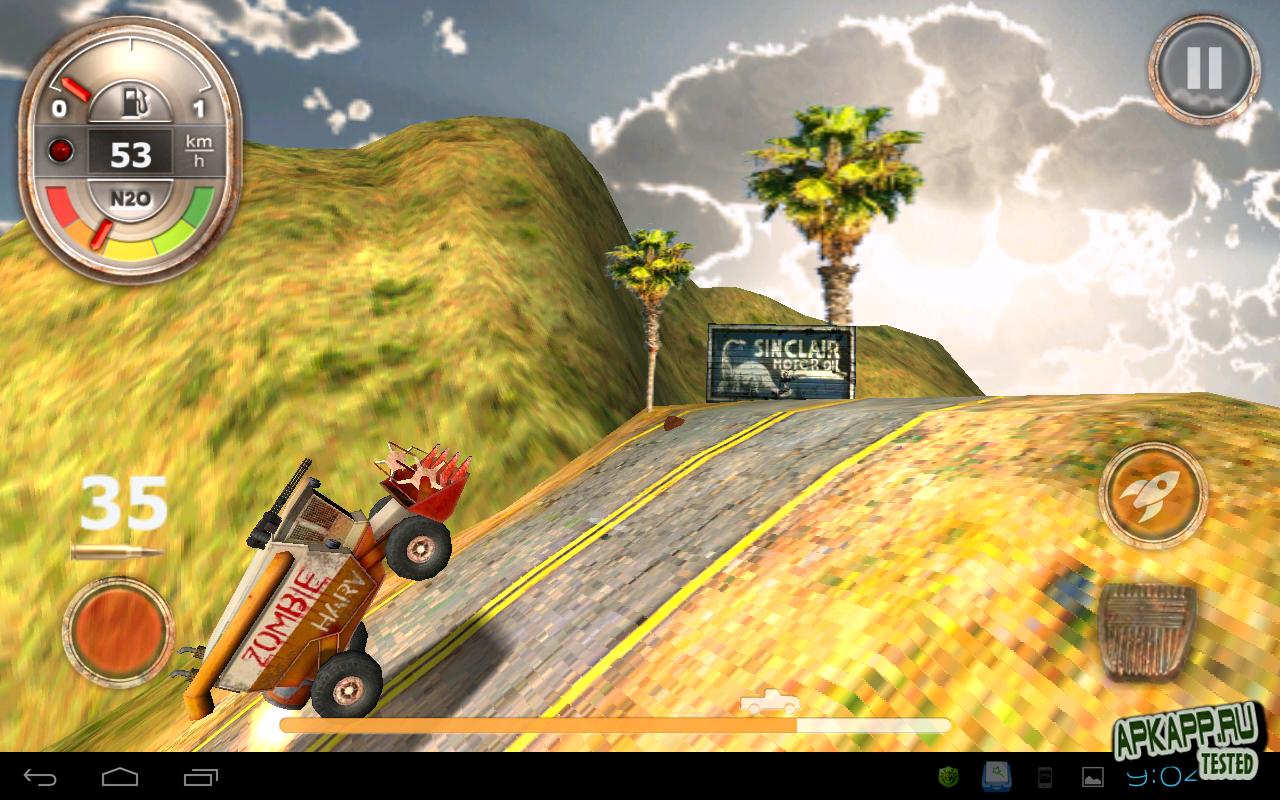 """Игра """"Zombie Derby"""" для планшетов на Android"""
