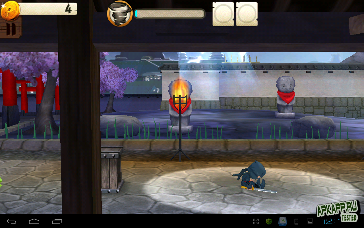 Игра Mini Ninjas для планшетов на Android
