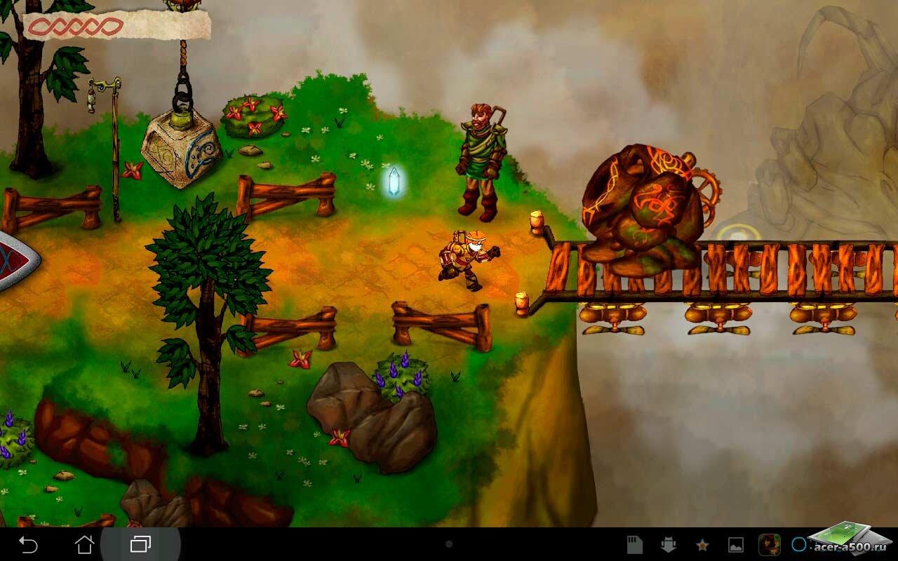 "Игра ""Ku: Shroud of the Morrigan"" для планшетов на Android"