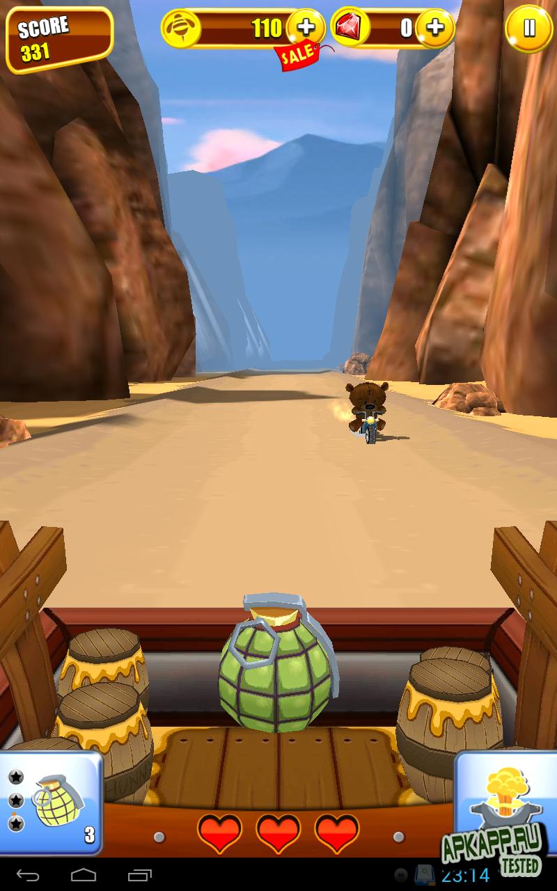 Игра Grumpy Bears на Андроид