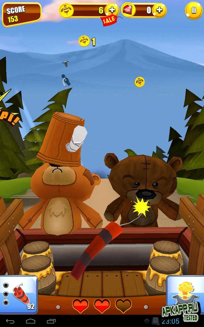 Игра Grumpy Bears для планшетов на Android