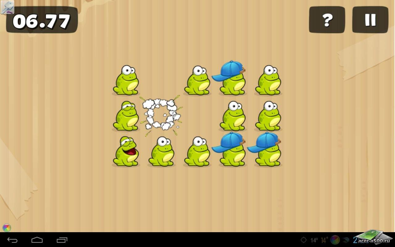 """Игра """"Tap the Frog HD"""" для планшетов на Android"""