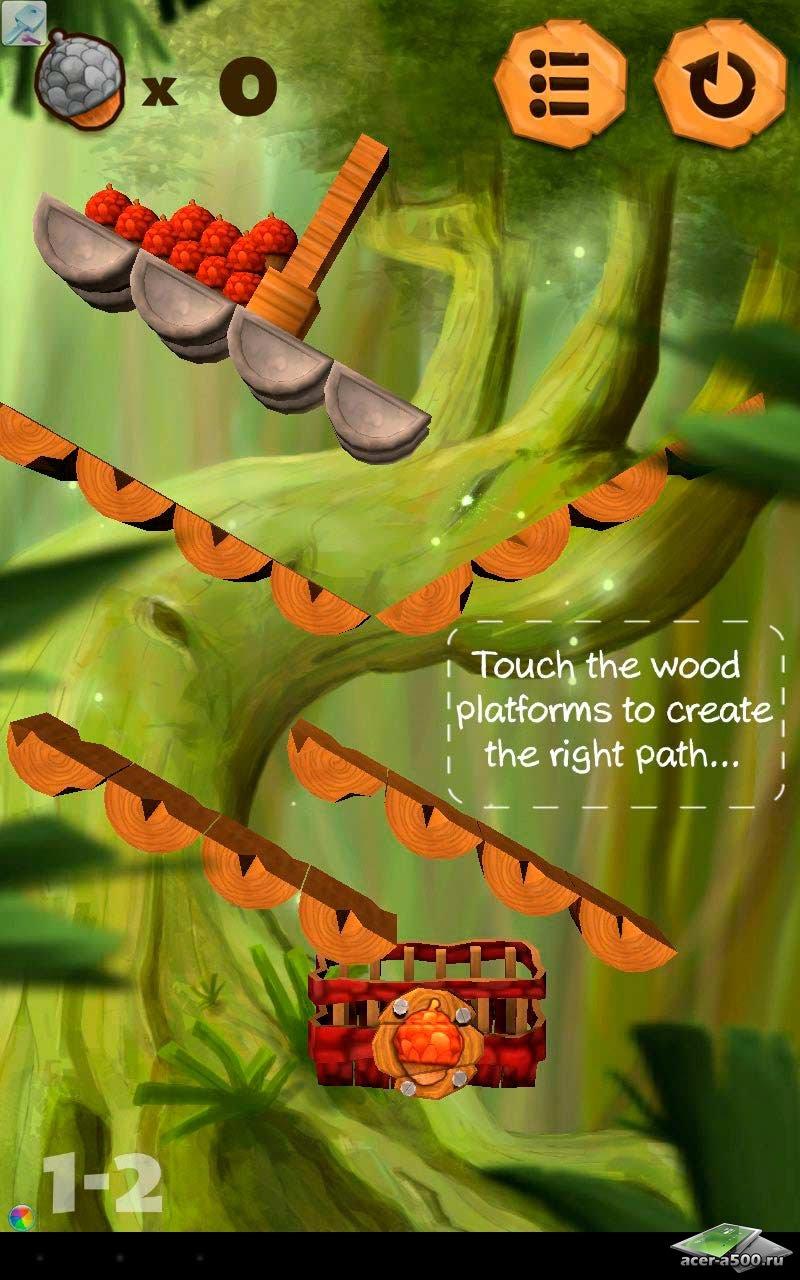 "Игра ""Puzzle Nuts HD"" на Андроид"
