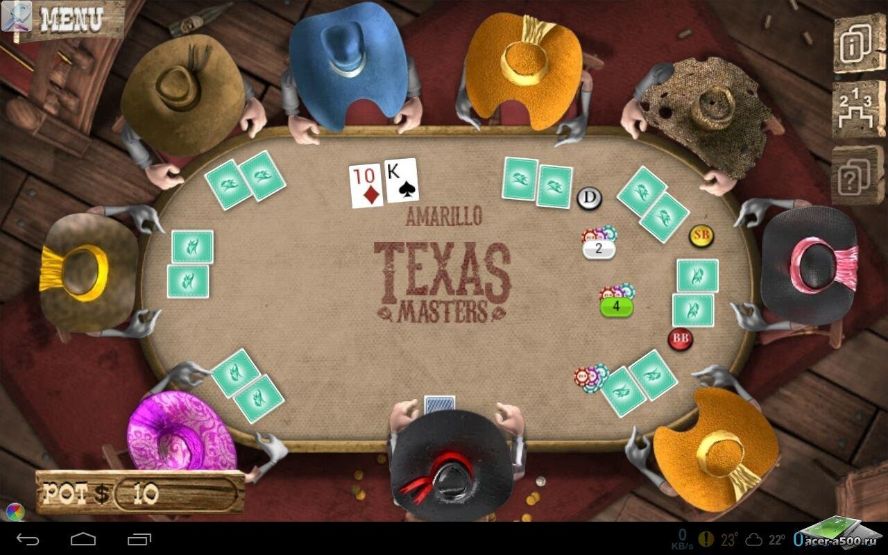 """Игра """"Governor of Poker 2 Premium"""" на Андроид"""