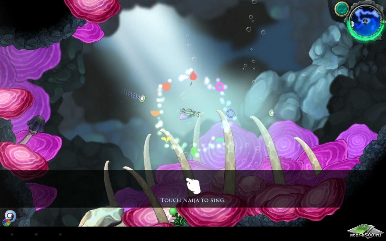 "Игра ""Aquaria"" для планшетов на Android"