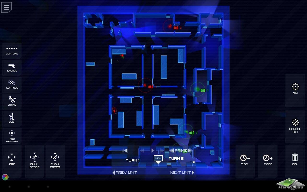 "Игра ""Frozen Synapse"" для планшетов на Android"