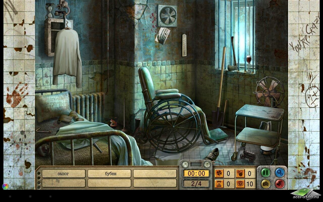 """Игра """"Ravenhill Asylum: HOG"""" на Андроид"""