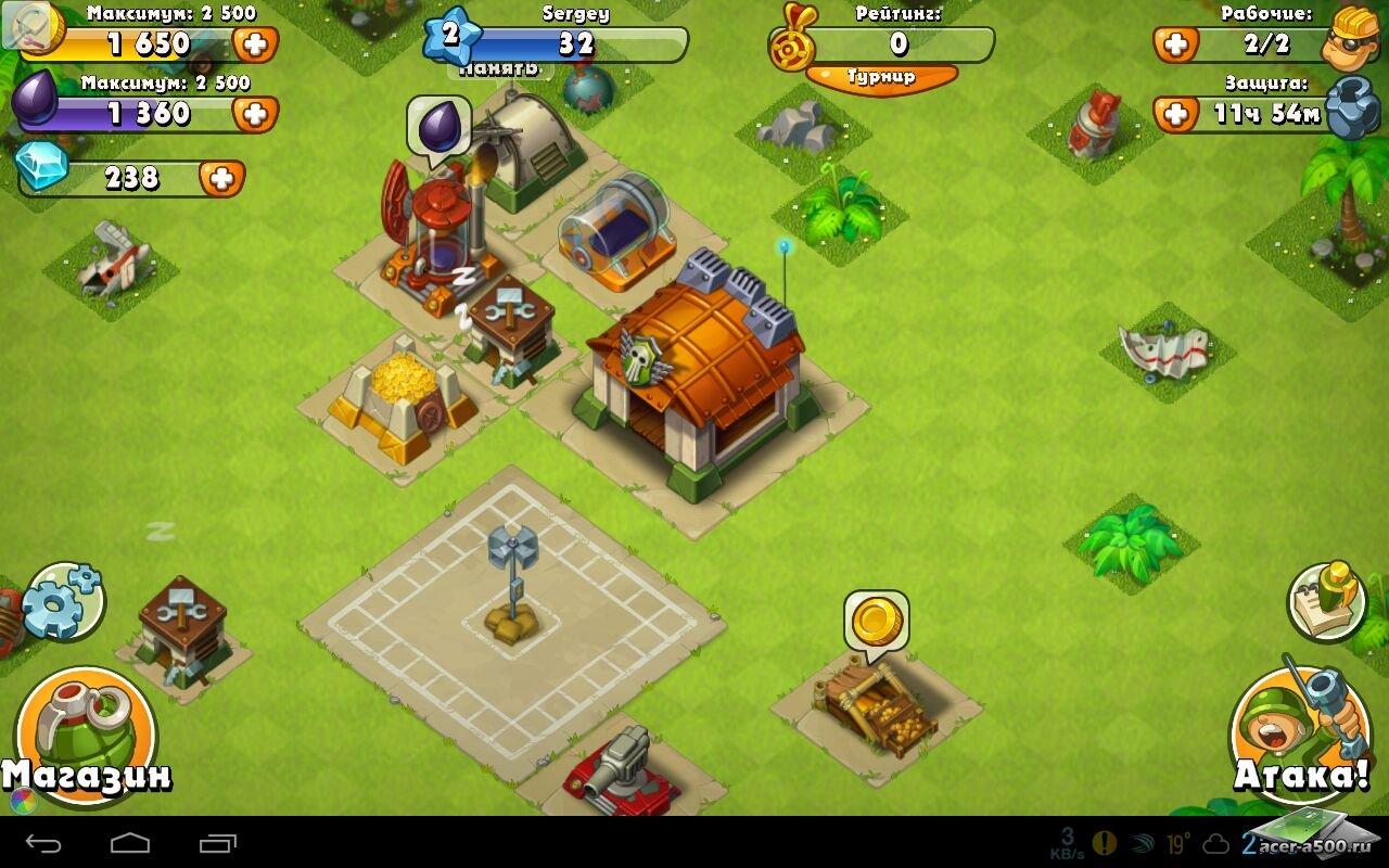 """Игра """"Jungle Heat"""" для планшетов на Android"""