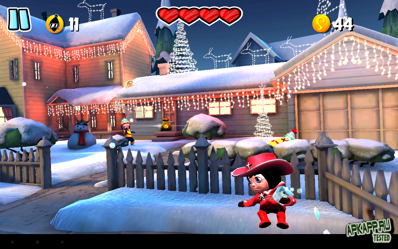 "Игра ""SnowJinks"" для планшетов на Android"