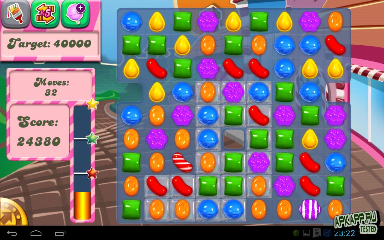 """Игра """"Candy Crush Saga"""" для планшетов на Android"""