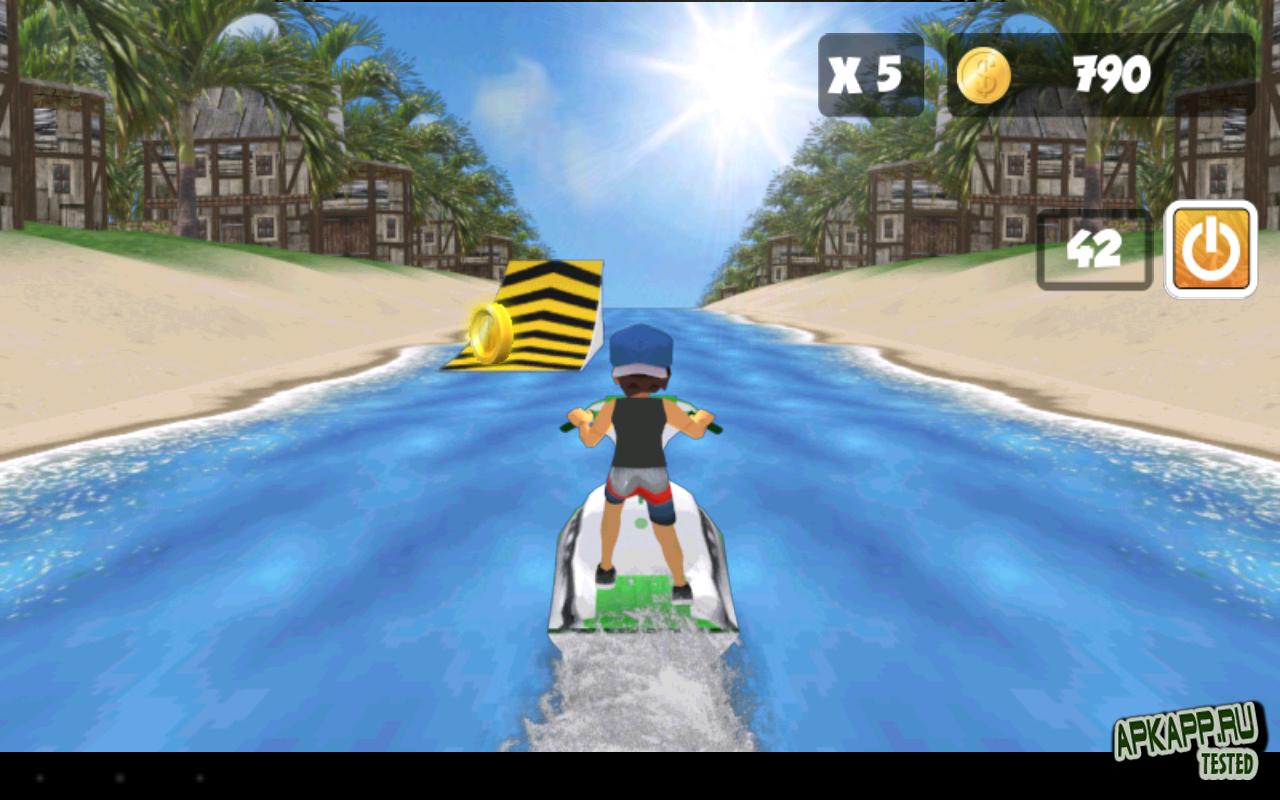 """Игра """"Jet Ski Joyride"""" для планшетов на Android"""
