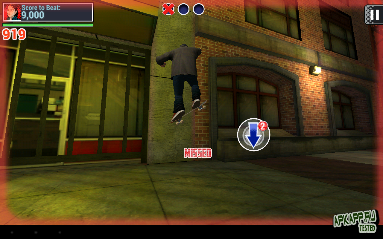 "Игра ""Tech Deck Skateboarding"" на Андроид"