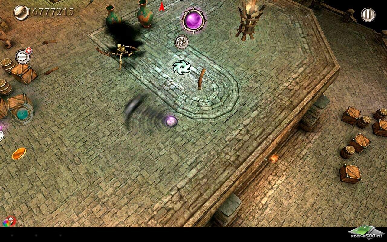 "Игра ""Smash Spin Rage"" на Андроид"