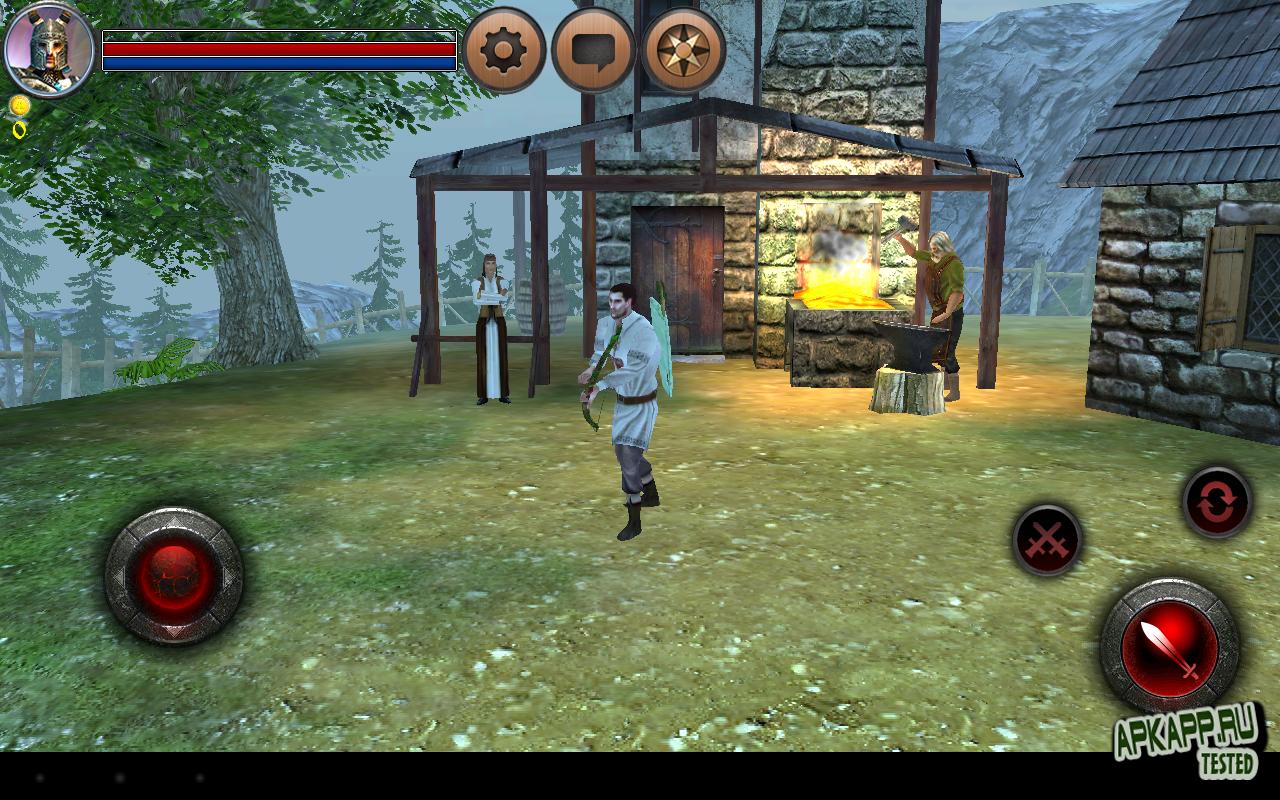 "Игра ""World of Anargor - 3D RPG"" на Андроид"