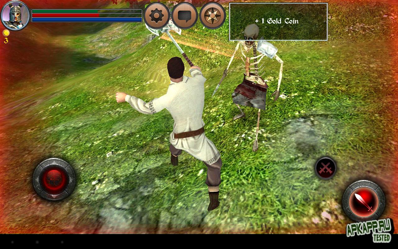 """Игра """"World of Anargor - 3D RPG"""" для планшетов на Android"""