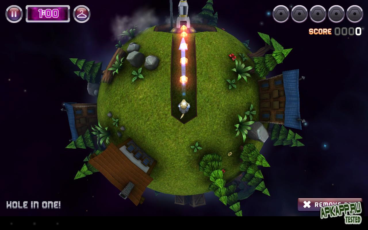 "Игра ""Gopher Launch"" для планшетов на Android"