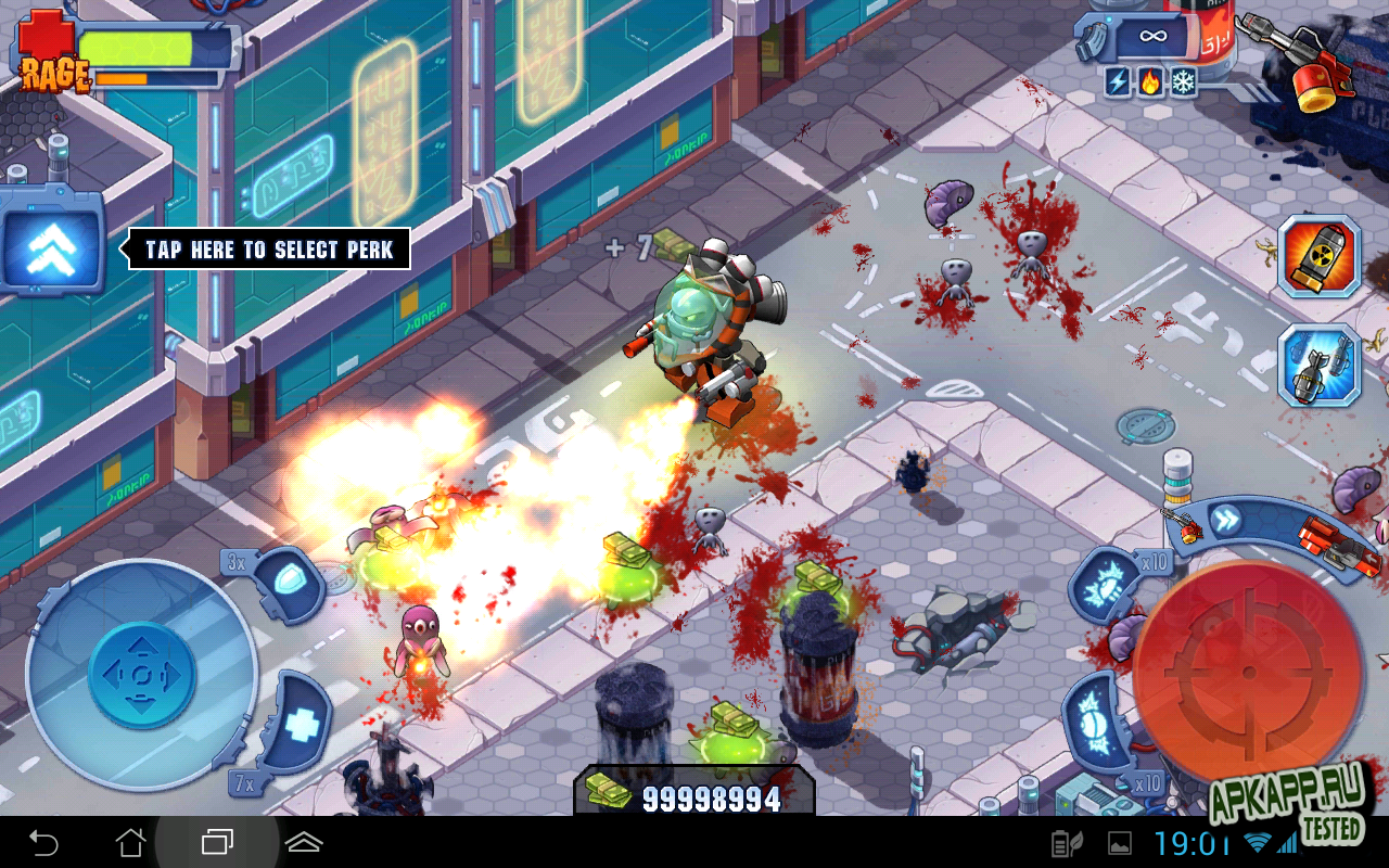 "Игра ""Monster Shooter 2: Back to Earth"" для планшетов на Android"