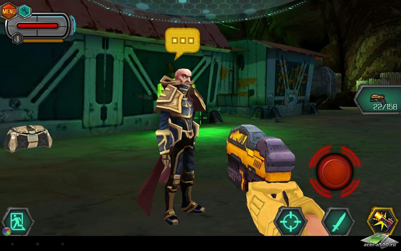 "Игра ""Bounty Hunter: Black Dawn"" на Андроид"