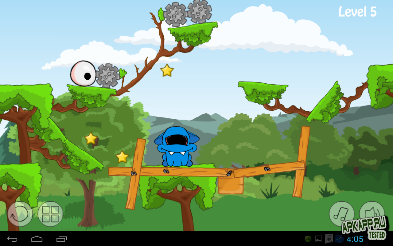 "Игра ""Eye Love Monster HD"" для планшетов на Android"