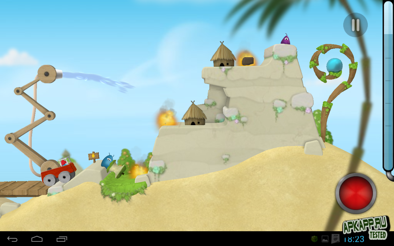 "Игра ""Sprinkle Islands"" для планшетов на Android"