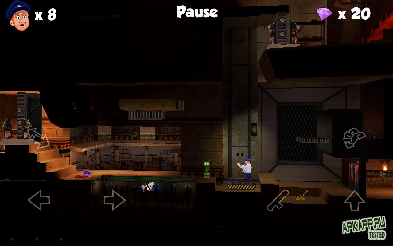 Игра 9 Lives: Casey and Sphynx для планшетов на Android