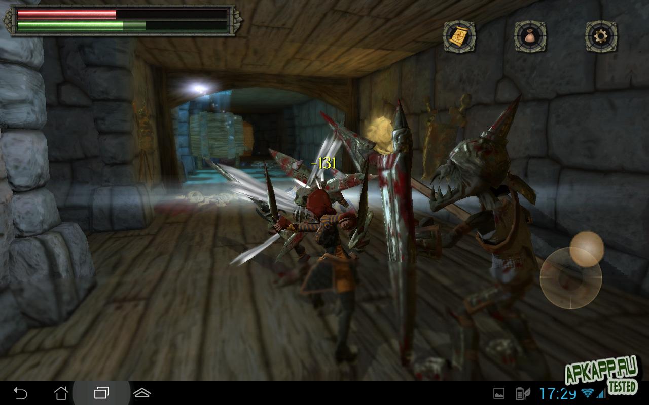 Игра Tainted Keep для планшетов на Android