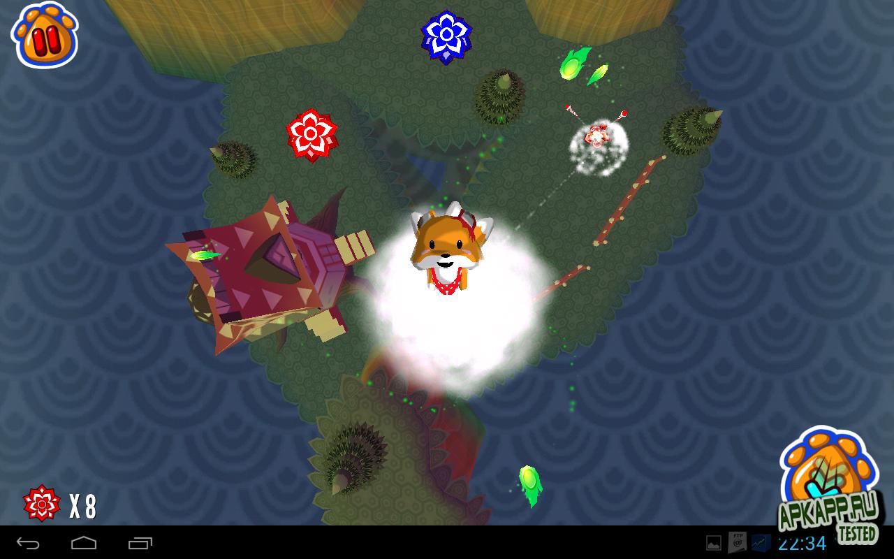Игра Rocket Fox на Андроид
