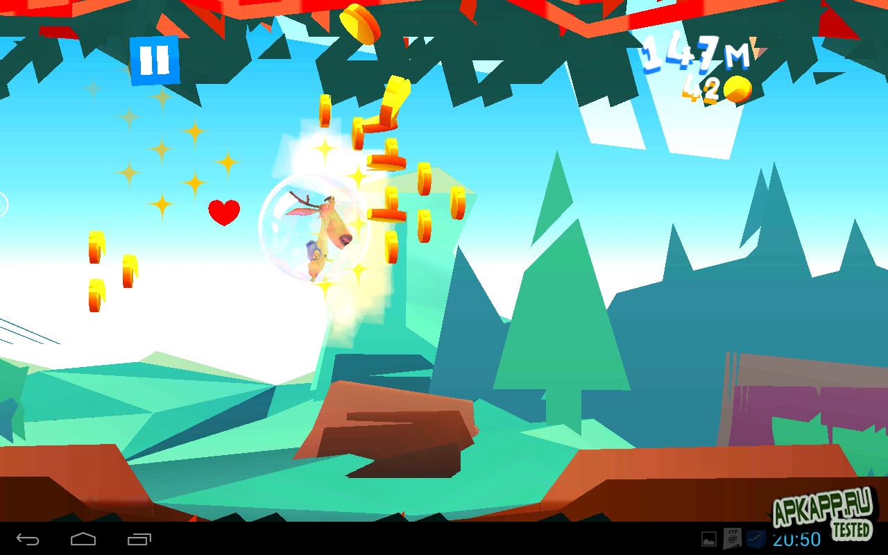 Игра Run, My Deer для планшетов на Android