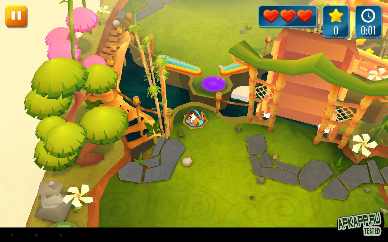 Игра Momonga Pinball Adventures для планшетов на Android