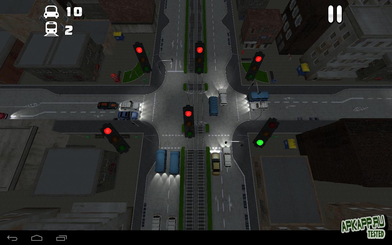 Игра TrafficVille 3D для планшетов на Android